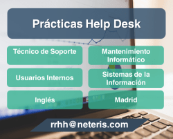 practicas help desk madrid