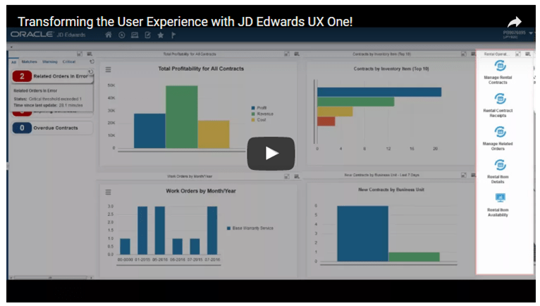 JD Edwards UX One