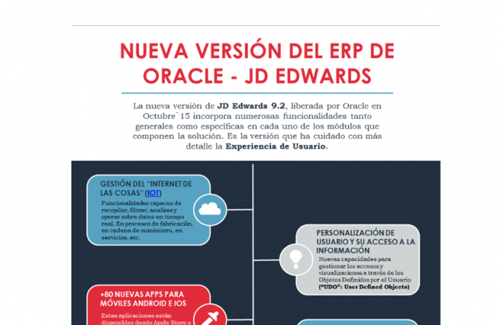Infografia jd edwards 9.2
