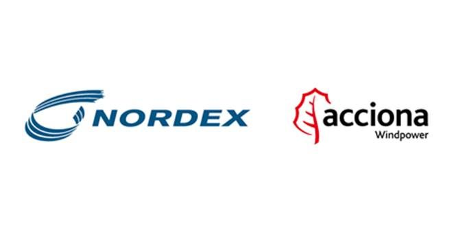 logo nordex acciona windpower web
